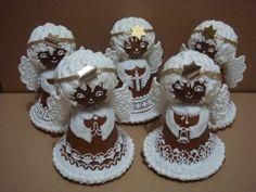 10825  •  Anjeli - klikni pre väčšiu veľkosť New Tricks, Winter Christmas, Gingerbread Cookies, Good Food, Baking, Cake, Desserts, Tips, Fun