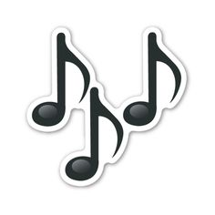 Multiple Musical Notes (0.377 BHD) ❤ liked on Polyvore featuring home, home decor and stationery