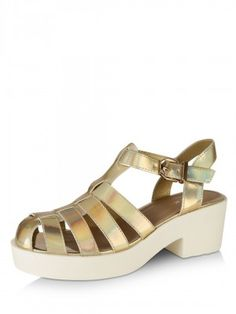 6e069c69e405 Style Shoes Hologram Chunky Sandals online buy from koovs.com