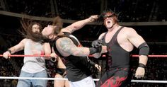 Sixteen of WWE's best Superstars collide in an all-out, mega brawl at Tribute to the Troops.