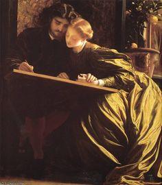 'la lune de miel du peintre' de Lord Frederic Leighton (1830-1896, United Kingdom)