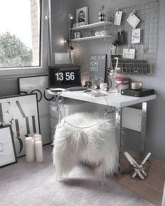 Study Room Decor, Cute Room Decor, Teen Room Decor, Room Ideas Bedroom, Bedroom Decor, Home Office Design, Home Office Decor, Office Ideas, Office Furniture