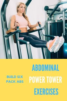 Easy ab exercises guide of the 5 best power tower ab exercises. Sculpt the perfect six pack abs in under 10 minutes with the power tower machine exercises. Top Ab Workouts, Easy Ab Workout, Effective Ab Workouts, Abs Workout For Women, Workout Guide, Best Abdominal Exercises, Ab Exercises, Abdominal Workout, Power Tower Workout