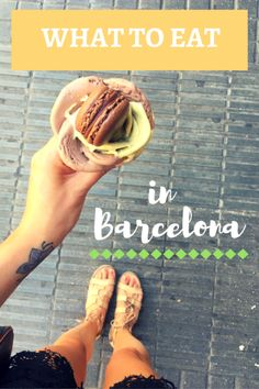 What to eat in Barcelona #barcelona #spain #eat #travel #food #traveltips