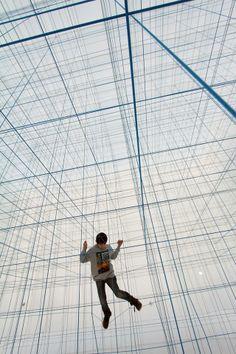 Nueva percepción del espacio creada por Numen for Use + fotos y toda la información en http://www.marietaestatequieta.com/2014/02/nueva-percepcion-del-espacio-creada-por.html