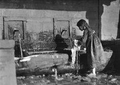 Μέτσοβο, στη βρύση, 1913