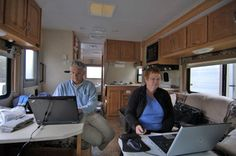 Mobile Office | RV Office Requirements If You Want To Take Your Job On The Road - The Fun Times Guide to RVing