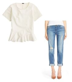 """Untitled #120"" by mirrang on Polyvore featuring J.Crew and KUT from the Kloth"