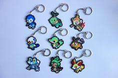 Pokemon pixel art keychains, pins, magnets or earrings, generation Pearl Beads Pattern, Hama Beads Patterns, Hama Beads Pokemon, Perler Beads, Pokemon Generation 4, Hama Mini, Etsy Earrings, Drop Earrings, Bead Art