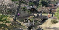Ein Brautpaar ... Japanese Garden