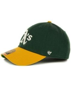 meet 9c7ad e6cd4  47 Brand Oakland Athletics  47 Franchise Cap - Green XL Stylish Caps,  Oakland