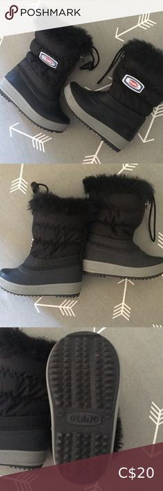 COPY - Olang Boots Black Olang Boots Size 20 For Babies Barely worn Sold as is Olang Shoes Boots
