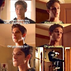 Teen Wolf Issac Lahey and Scott McCall Season 3B Daniel Sharman and Tyler Posey