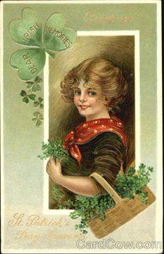 Vintage St. Patrick's Day post card