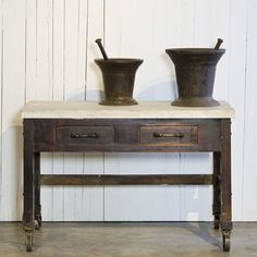 Printer's Table - Ralph Lauren Home - RalphLaurenHome.com - my ultimate letterpress table? @Topher Martini