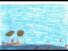 """Τελευταίες μέρες στο σχολείο …Μια ολόκληρη χρονιά πέρασε και οι μαθητές της Α΄τάξης σας εύχονται """" καλό καλοκαίρι """" με ένα ποίημα του Οδυσσέα Ελύτη. Το ποίημα """" Τα τζιτζίκια """" περιλαμβάνεται στο βιβλίο της Γλώσσας τους . Το διάβασαν , το τραγούδησαν και το ζωγράφισαν … Painting, Painting Art, Paintings, Painted Canvas, Drawings"""