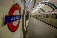 Permission Visit - Aldwych Tube Station Feb 16