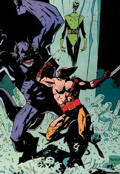 X-Men — Mike Mignola