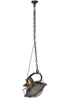 Hanging Bronze Spotlight Ceiling Lamp