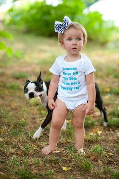 I am Not a Squeaky Toy  Funny Baby Onesie  by ShopTheIttyBitty, $17.00