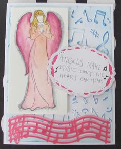 I just listed Angel Music Handmade Greeting Card Angels Hope Faith on The CraftStar @TheCraftStar #uniquegifts
