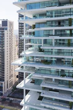 beirut terraces by herzog & de meuron features staggered, greenery-filled floorplates