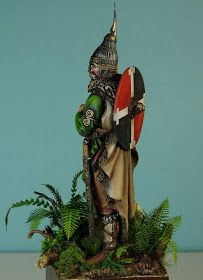 Modelarstwo - Moja pasja: 75mm Slavic Warrior. Pegaso Christmas Ornaments, Holiday Decor, Home Decor, Pegasus, Xmas Ornaments, Homemade Home Decor, Decoration Home, Room Decor, Christmas Jewelry