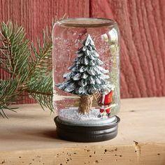 Mason Jar Christmas Centerpieces | Mason Jar Tree