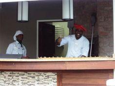 Chef Gino and Myron at Dino's Grand Riviera