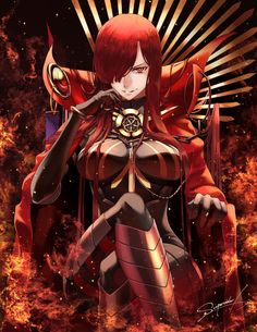 Show Manga And Anime Drawing Styles Female Character Design, Character Concept, Character Art, Fantasy Characters, Female Characters, Anime Characters, Fate Servants, Fate Anime Series, Demon King