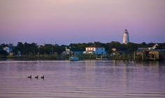 Ocracoke Island, North Carolina, USA. One of the most beautiful places on Earth. Home of Blackbeard, the pirate.
