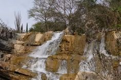 Waterfalls in Agrinio Aitoloakarnania region