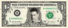 John Cena on Real Dollar Bill $1 Celebrity Bill Custom Cash Money WWE
