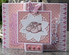 what a beautiful card for an expectant mom...
