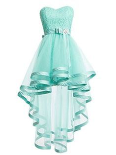 prom dresses high low,A-line Sweetheart Asymmetrical Tulle Homecoming