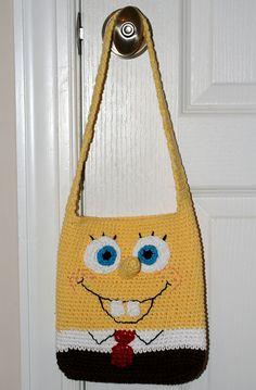 Ravelry: Sponge Yellow Purse for Child pattern by Sandy Furlough ~ Crochet Knit Tote Bags Back Packs Hobo Bags Purse Handbags