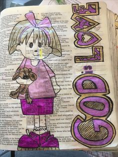 God is love. New Bible, Faith Bible, Bible For Kids, Scripture Art, Bible Art, Bible Scriptures, Psalms Quotes, Biblical Quotes, Psalm 106