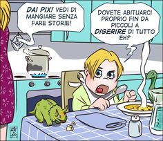 Vignetta#3 Mamma!
