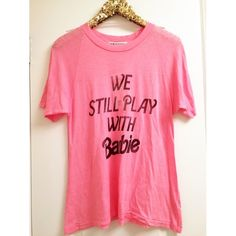 •WILDFOX• Play With Barbie Tee New with tags Wildfox Tops Tees - Short Sleeve
