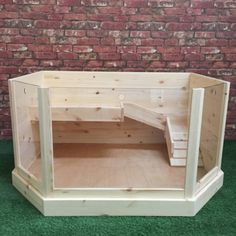 "The Guineville For guinea pigs. but can't you see this as a small ""loft"" style dollhouse? Guinea Pig Hutch, Guinea Pig House, Pet Guinea Pigs, Guinea Pig Care, Diy Guinea Pig Toys, Indoor Guinea Pig Cage, Rabbit Hutch Indoor, Guinnea Pig, Hedgehog Cage"
