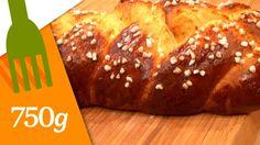 Brioche tressée maison - 750g Easter Recipes, Easter Food, Macarons, Bakery, Bread, Homemade, Chocolate, Sweet, Beignets