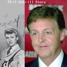 Sir Paul McCartney was Phil Ackrill, the 2nd replacement 'Paul' | The…