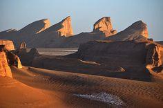 Lut Desert, Iran 1 by Desert Biome, Desert Tour, Iran Travel, Persian Culture, Alien Worlds, Natural Scenery, Biomes, Historical Sites, Monument Valley