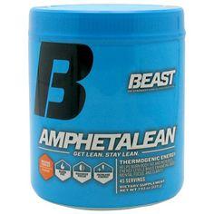 Beast Sports Nutrition Amphetalean Orange Cooler - 45 Servings #fitness #healthy #health #sports #fitnessmodel #gym