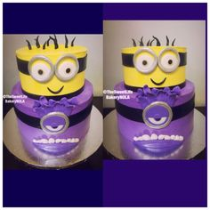 Minions custom  cake by The Sweet Life Bakery New Orleans www.nolasweetlife.com email info@nolasweetlife.com (504)371-5153 #nolasweetlife @nolasweetlife