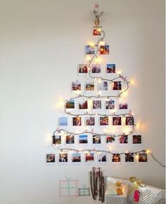 I hope you all had a wonderful Christmas time! We still have a little gift for you guys! Keep in touch, you will definitely love it! 🎄🎅🎁 Thanks for sharing! Wooden Christmas Tree Decorations, Wall Christmas Tree, Silver Christmas Tree, Unique Christmas Trees, Alternative Christmas Tree, Christmas Room, Christmas Mantels, Noel Christmas, Xmas Tree