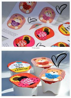 Photo Credit Do It Often Are you looking for a fun but creative Valentine idea for your kids? I like to look for treats that are not loaded with sugar. Check out these adorable FREE PRINTABLE labels for the top of a Pringles cup. Valentines Ideas For Your Kids, Valentines Gifts For Boyfriend, Valentines Day Treats, Valentine Day Love, Valentine Day Crafts, Cupcakes, Holiday Fun, Easy, Printable Labels