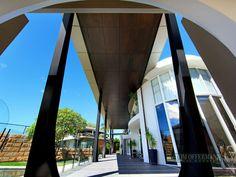 """Trinacria"" The Peninsula Noosa Waters Qld 4566 Marina Bay Sands, Building, Water, Travel, Construction, Water Water, Trips, Buildings, Viajes"