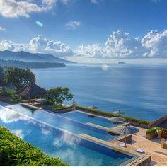 Amankila Resort, 34 free-standing suites - Manggis, Bali.