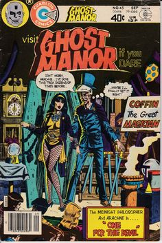 Ghost Manor 1971 45 September 1979 Issue Charlton by ViewObscura, $1.00